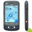 "Genuine ZTE U802 2.8"" Capacitive Screen Single SIM Android 2.2 Smartphone w/ WiFi + GPS - Black"