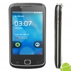 "A5 Android 2.3 WCDMA Smartphone w/ 3.5"" Capacitive Screen, Dual SIM, Wi-Fi and GPS - Black"