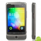 "W7272 Android 2.3 WCDMA Smartphone w/ 3.5"" Capacitive Screen, Dual SIM, Wi-Fi and GPS - Black"