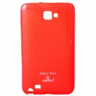 Protective Soft PC Back Case for Samsung i9220 - Deep Red