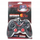 Dual-Shock USB Wired PC Game Joypad Controller - Black