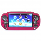 Protective Aluminum Cover Plastic Case for PS Vita - Red