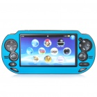 Protective Aluminum Cover Plastic Case for PS Vita - Light Blue