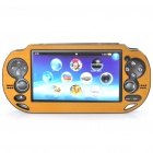 Protective Aluminum Cover Plastic Case for PS Vita - Golden