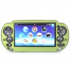 Protective Aluminum Cover Plastic Case for PS Vita - Green