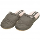 Men's Soft Coral Fleece Indoor Winter Cotton Slippers (Size 42/43)