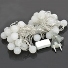 Multicolored 40-LED Balls Decoration String Lights (AC 220V / EU Plug / 400cm)