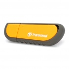 Genuine Transcend USB 2.0 Flash Drive - Orange + Schwarz (8 GB)