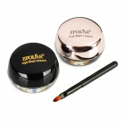 Waterproof Black & Brown Color Eyeliners Gel/Cream with Brush
