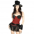 Sexy Pirate Costume Dress Set (Size M)