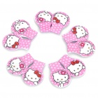 Hello Kitty Style Magnetic Paper and Document Clip (5-Pair Pack)