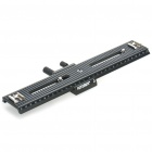 FotoMate LP-03 250mm Movable 2 Way Macro Focusing Rail Slider - Black