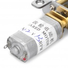 13mm 12V 13RPM High Torque DC мотор-редуктора