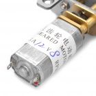 13mm 12V 8RPM High Torque DC Geared Motor