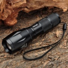 Multifunction Ultra Bright Cree R5 320LM 3300/6000K 5-Mode Camera Flashlight Torch - Black