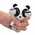 Pop Out Eyes Doll Stress Reliever Relief Squeeze Toy - Panda (Black + White)