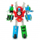 Thomas Robots Train Transformer Assembly Toy - Red + Green + Blue