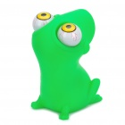 Pop Out Eyes Doll Stress Reliever Relief Squeeze Toy - Frog (Green)