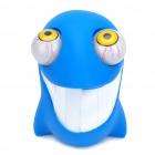 Pop Out Eyes Doll Stress Reliever Relief Squeeze Toy - Shark (Blue)