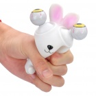 Salir Doll Eyes Stress Relief Alivio Squeeze Toy - Rabbit (blanco + rosa)