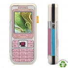 "Refurbished Nokia 7360 Barphone w/ 1.8"" LCD Screen, Single SIM, GSM Triple-band and Java - Pink"