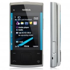 "Refurbished Nokia X3 S40 GSM Cellphone w/ 2.2"" LCD, Quadband, Java and FM - Silver + Blue"