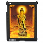 3D Image Pattern Protective PC Back Case for Ipad 2 - The Goddess of Mercy