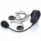 BT Interphone + Handsfree Bluetooth for Motorcycle / Skiing Helmet (5-Hour Talk/500M-Transmission)