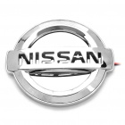 Auto Car Logo Badge Bremse Blue Light Sticker für Nissan (DC 12V)
