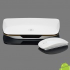1080P Full HD Android 2.2 Network Media Player with SD / LAN / HDMI / USB / Wi-Fi (White)