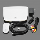 J01 1080P Android 2.2 Google TV Player with SD / LAN / HDMI / USB / Wi-Fi (White)