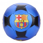 FC Barcelona Logo PVC Soccer Ball Football for Children (15.5CM - Diameter)