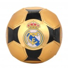 Real Madrid Logo PVC Soccer Ball Football for Children (15.5CM - Diameter)