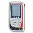 "1.8"" LCD Multifunction Palmtop Game Machine Console with FM Radio - Black + Red + Silver (2 x AAA)"