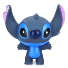Cute Stitch Figure Toy with Suction Cup - Blue