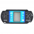 "2.1"" LCD Multifunction Palmtop Game Machine Console with FM Radio - Black (4 x AAA)"