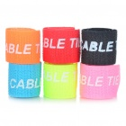 Stylish Velcro Nylon Cable Tie Organizer (6-Piece)