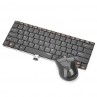 Rapoo E9020 2.4GHz Wireless 82-Key Keyboard w/ Receiver + 1000DPI Optical Mouse