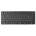 Rapoo E9050 Ultra-thin Wireless 82-Key Keyboard - Black (2 x AAA)