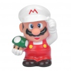 Cute Super Mario Style Saving Coins Money Bank - White + Red + Green