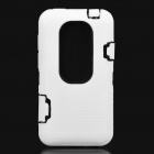 Creative Protective Case for HTC EVO 3D - White + Black