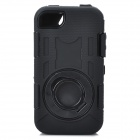 Stylish Standable Protective Case for Iphone 4S - Black