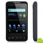 "FG10 Android 2.3 WCDMA TV Smartphone w/3.7"" Capacitive, Dual SIM, Wi-Fi and GPS - Black"