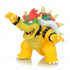 Stylish Fire Dragon Figure Display Toy - Yellow + Green + Green + White