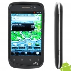 "A101 Android 2.3 WCDMA Smartphone w/ 3.5"" Capacitive, Dual SIM, Wi-Fi and GPS (Black + Silver)"