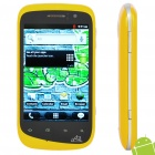 "A101 Android 2.3 WCDMA Smartphone w/ 3.5"" Capacitive, Dual SIM, Wi-Fi and GPS (Yellow + Silver)"