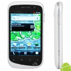 "A101 Android 2.3 WCDMA Smartphone w/ 3.5"" Capacitive, Dual SIM, Wi-Fi and GPS (White + Silver)"