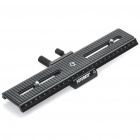 FotoMate LP-02 200mm Movable 2 Way Macro Focusing Rail Slider - Black