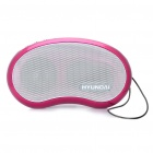 Stylish Rechargeable MP3 Player Music Speaker with FM / TF / USB / Earphone Slot (Deep Pink)