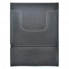 Durable PU Leather Protective Case for iPad - Black